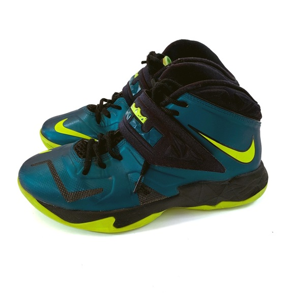 watch special discount discount Nike Kids Lebron. James Green Sneakers